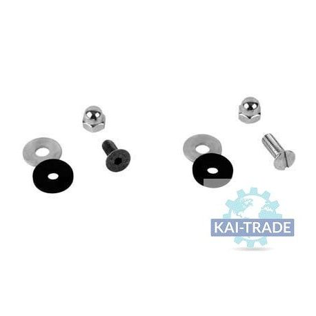 Kit screws and wahser for wear plates 6mm