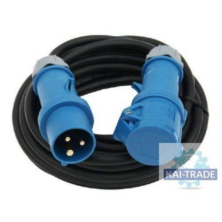 Cable 16A 3POL 6H - SCHUKO, 25M