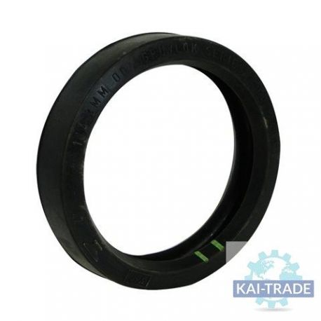 Rubber joint for coupling concrete hose 2 1/2""