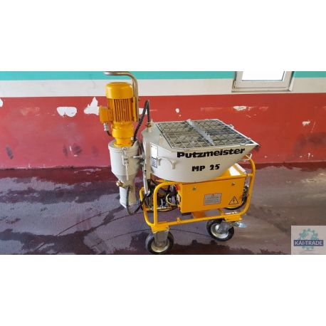 Maquina de yeso Putzmeister MP25 usada