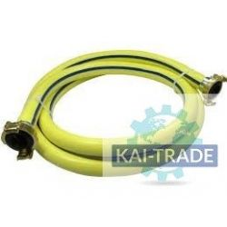 "air hose 1/2"" - 20 M with couplings"