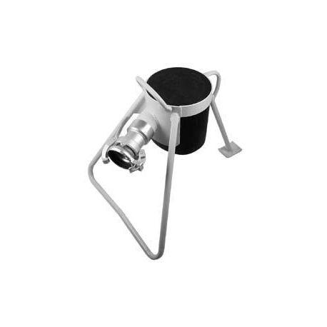 Auslaufbock Stahl mit Perrot Kupplung