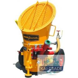 Gunite machine Reed Lova air
