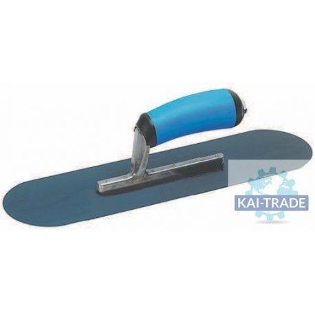 Llana piscina acero azul
