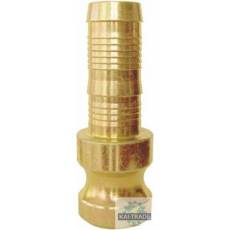 Kupplung 35 mm mit Schlauchtülle Vaterteil