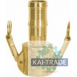 Coupling camlock 50 mm hostail female