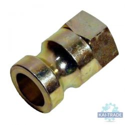 "Coupling camlock 35 mm male 1"" interior thread"