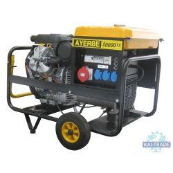 Generator for plastering machine 20 KVA