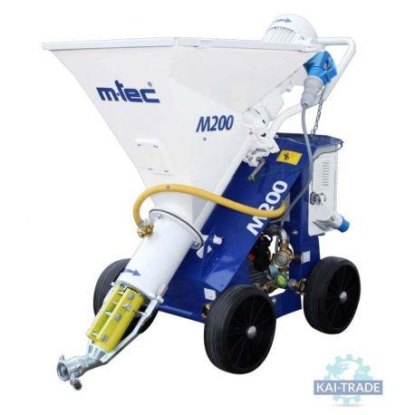 Maquina de yeso M-tec M200
