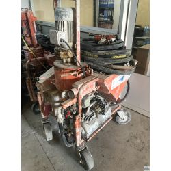 Plastering machine Mixer used