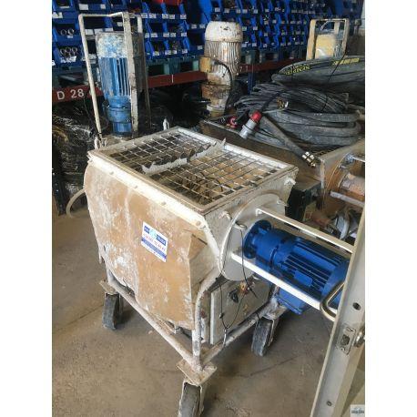 Maquina de proyectar yeso y mortero usada