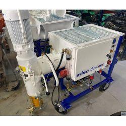 Maquina de mortero M-tec Duomix para autonivelante usado