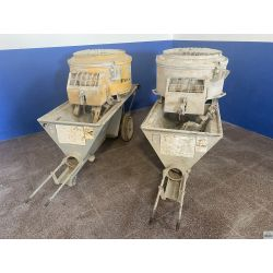 Mortar pump Putzmeister S5 EVTM
