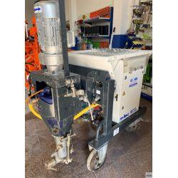 Maquina de yeso y mortero M-tec M330 usada