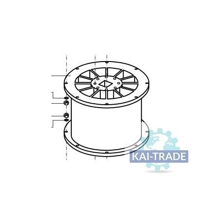 Rotor 12 sectores Meyco Piccola