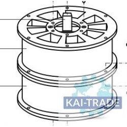 Rotor double secteurs Meyco GM