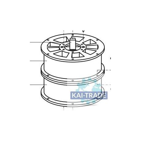 Rotor doble sectores Meyco GM