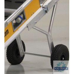 chariot avec roues pour transporteur